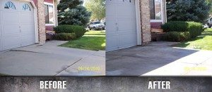 Driveway Repair Concrete Raising Before and After 2