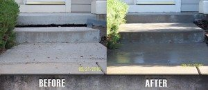 Repair Concrete Stairs Mudjacking Before and After 5