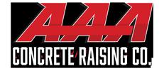 AAA Concrete Raising Logo